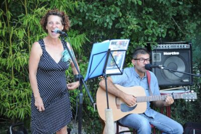 Animation musicale au camping