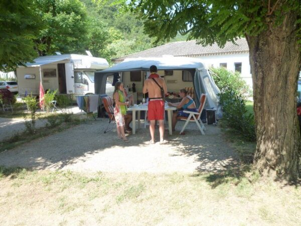 Emplacement du camping