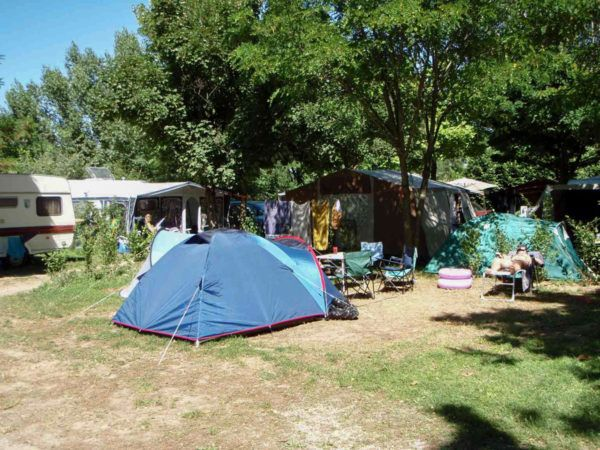 Campsite pitch